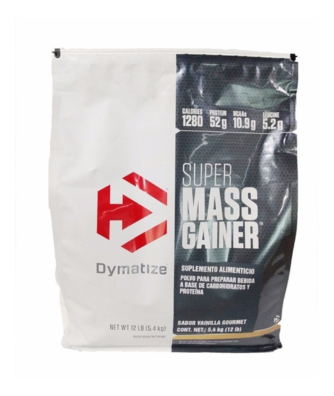 Proteina Dymatize Super Mass Gainer 12 Lbs Vainilla