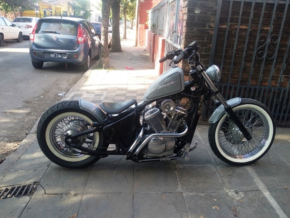 Honda Shadow 600 Bobber Custom Nueva (no Harley Intruder )