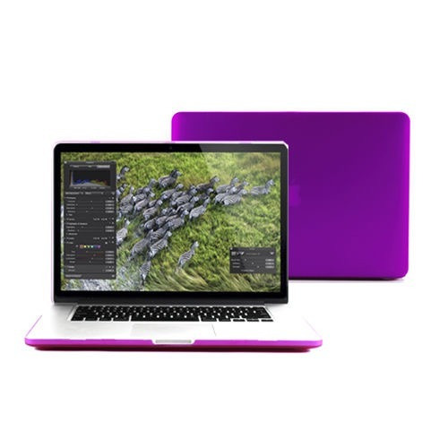 Macbook Pro Retina 13 - Capa Case Roxo A1425/ A1502