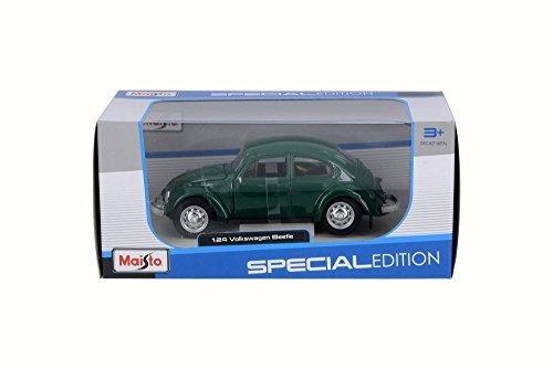 Carro En Escala 1973 Beetle, Verde