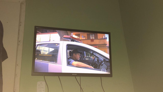 Televisão Semi Nova Semp 32 Tv Pega Wi-fi Aceita Troca