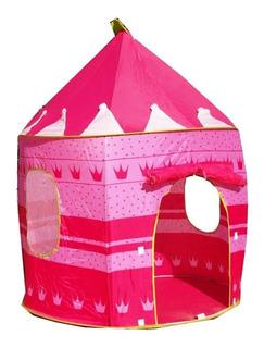 Carpa Castillo Para Princesas Rosado