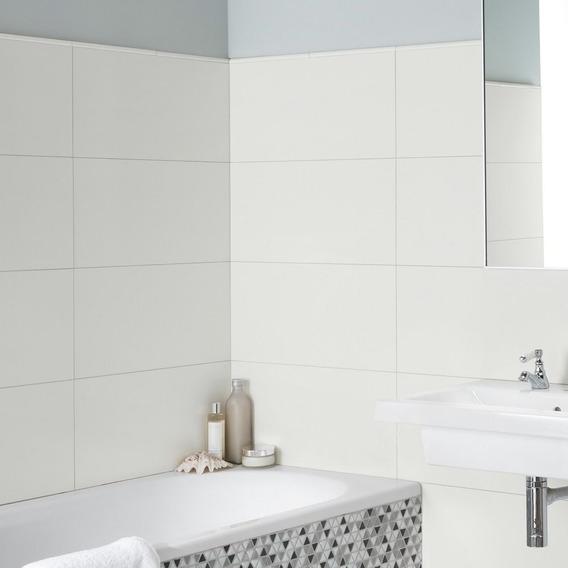 Ceramica Lume Branco 32x60 Blanco Rectificado