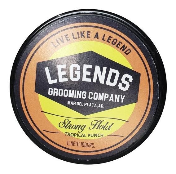 Cera Hair Pomade Legends Fijación Fuerte X 100 Gr