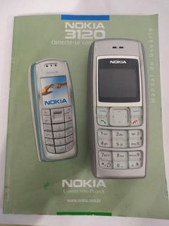 Celular Nokia Modelo 3120 - Retirada De Peças - Com Manual