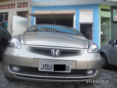 Honda Fit Lxl 2004 Gasolina Cvt Docs Ok Somente Venda