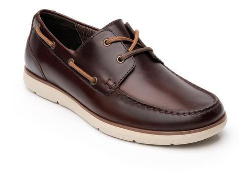 Zapato Flexi Hombre 403601 Nogal Casual Playa