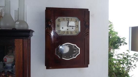 Relógio De Parede Francês Jura Ave Maria E Westmister 40/50