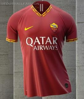 Camisa Roma I 2019/20 Lançamento Pronta Entrega