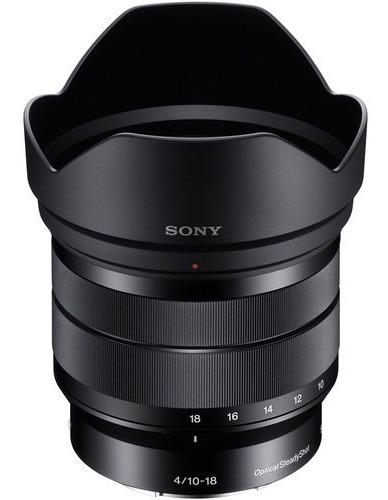 Lente Sony E 10-18mm F/4 Oss - Nfe Garantia 12 Meses