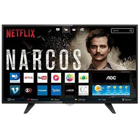 Smart Tv Led 39 Aoc Le39s5970 Hd 2 Hdmi 1 Usb Wi-fi Netflix