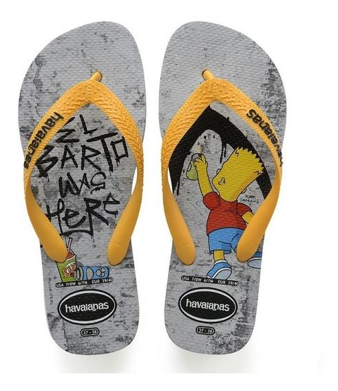 Havaianas Simpsons Cinza