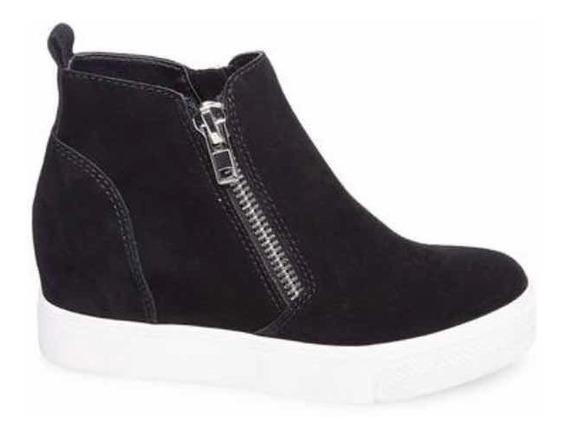 Zapatos Steve Madden Wedgie-p-black 24cm Único Par