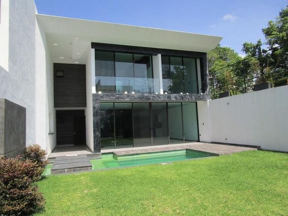 Casa Nueva En Vista Hermosa En Cuernavaca