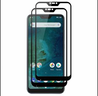 Película De Vidro3d Full Cover+fibra Traseira Xiaomi Mi8lite