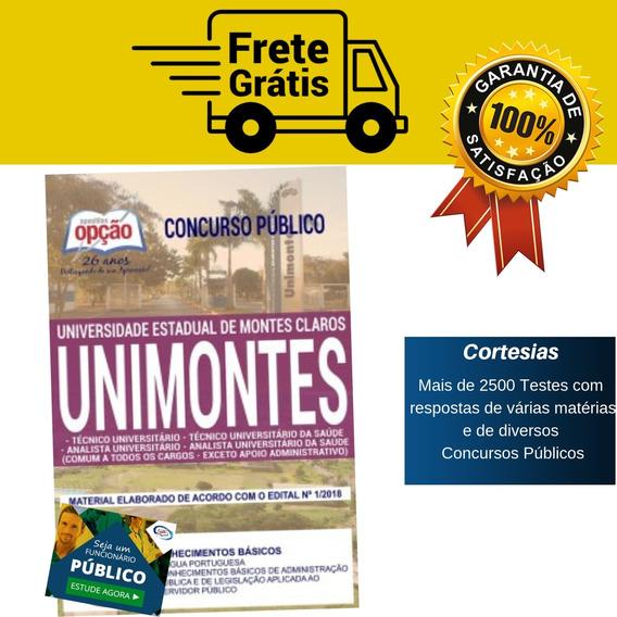 Apostila Técnico Universitário Da Saúde Unimontes 2019