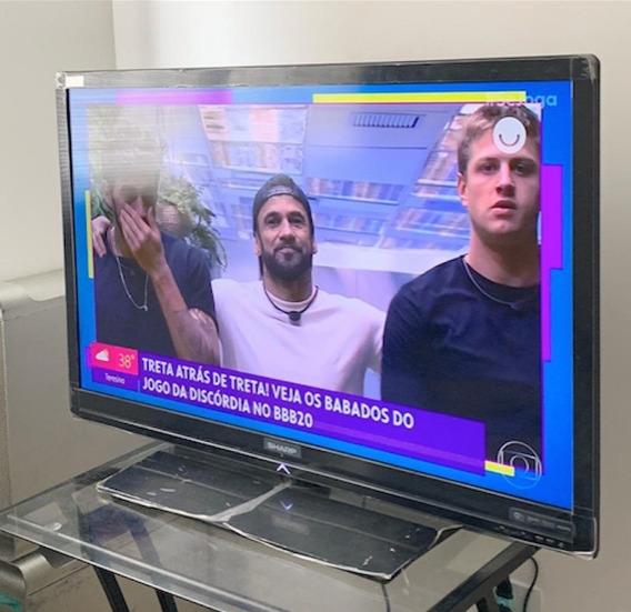 Tv Sharp Smart Wi - Fi 42 Aquos Novíssima Retira Já Perdizes