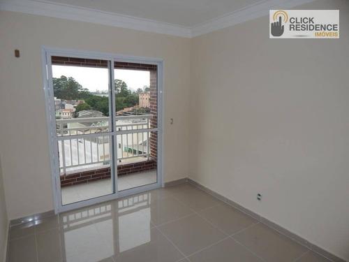 Imagem 1 de 10 de Apartamento Com 2 Dormitórios À Venda, 63 M² Por R$ 373.100,00 - Vila Euro - São Bernardo Do Campo/sp - Ap0597
