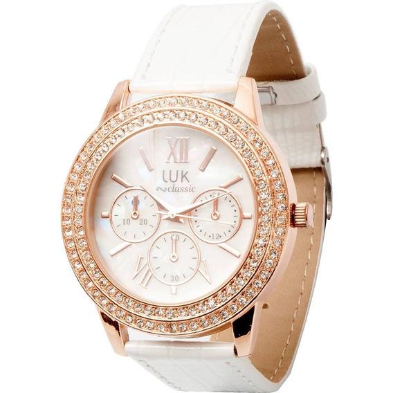 Relógio Feminino Luk Analógico Gs1elwj4191wh Frete Gratis