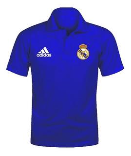 Camiseta Camisa Polo Real Madrid Fc Time Futebol Cr7 Ronald