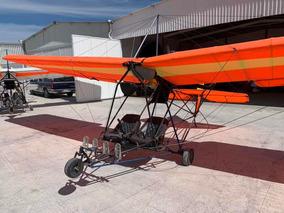 Avion Ultraligero Quicksilver Motor Rotax 618 15 Horas