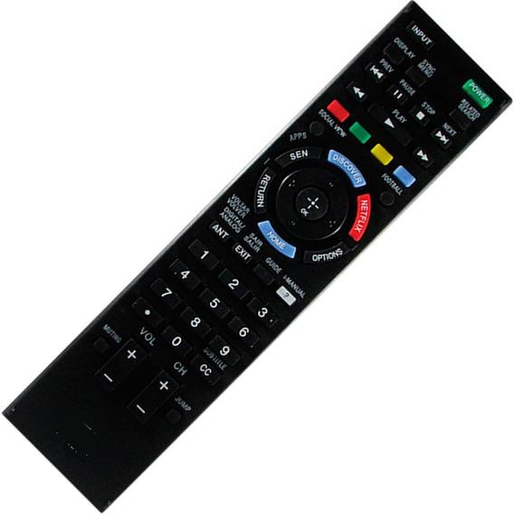 Controle Remoto Compatível Tv Smart Sony