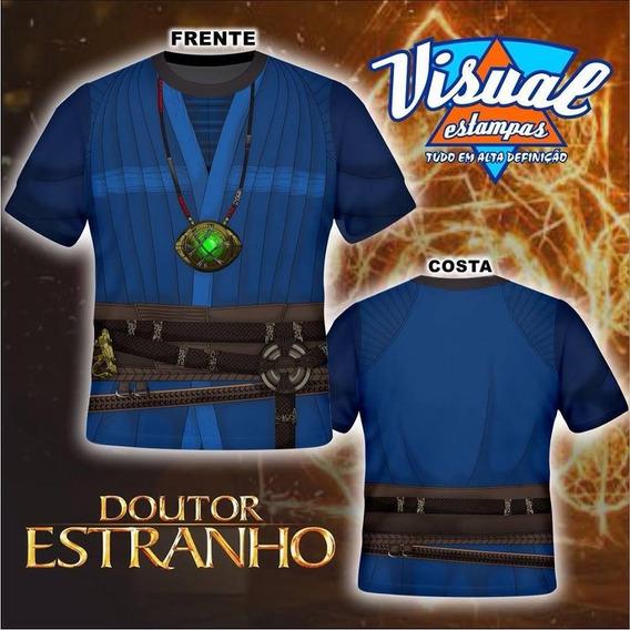 Camisa Doutor Estranho 3d Os Vingadores Guerra Infinita