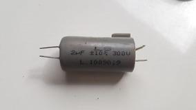 Capacitor 2uf; 300v, 380v, 400v E 440v Kit 13 Pç Por R$120