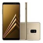 Smartphone Samsung Galaxy A8+ Dourado