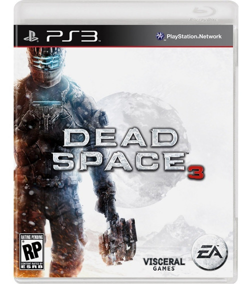 Dead Space 3 Ps3 Mídia Física Novo Lacrado Rj