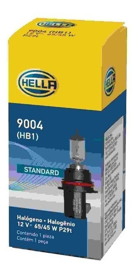 Lampada Iodo Com Base H1 12v 65/45w Hb1 9004