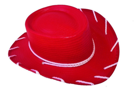 Sombrero Vaquerita Toy Story Jessie Rojo Fiesta Niño Jessy