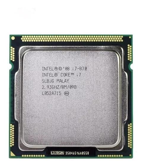 Processador Intel Core I7-870 2,93ghz Lga1156 + Cooler