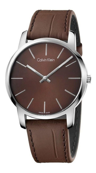 Relógio Masculino Calvin Klein | Pulseira De Couro Original