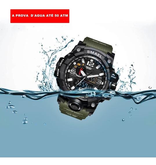 Relógio Smael Tático Militar Original