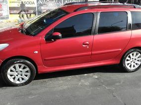 Peugeot 207 Sw 1,6 2010 Con 10000$ Antci Y Cuotas