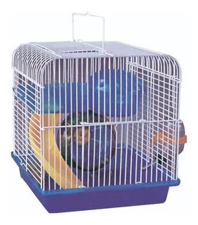 Hamstera Chica Con Rueda Tobogán Accesorios Para Topitos