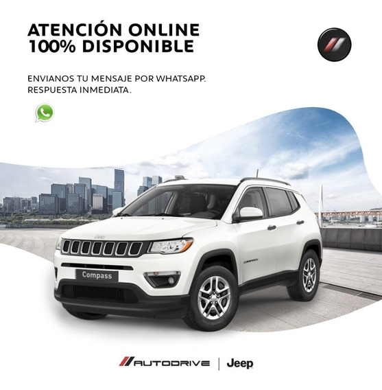 Jeep Compass Sport A/t 6 4x2 Nueva Version 0km 2020