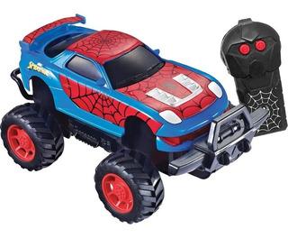 Carro Controle Remoto Homem Aranha Web Tangle Candide 5840