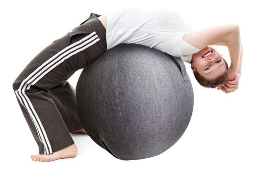 Funda De Pelota De Ejercicios Para Yoga Pilates Gym Los 60cm