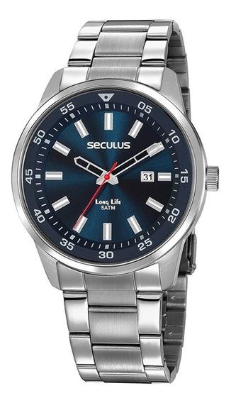 Relógio Masculino Esportivo Seculus Original A Prova D/água