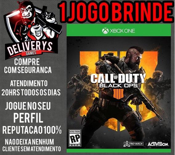 Call Of Duty Black Ops 4 Xbox One Midia Digital + 1 Brinde