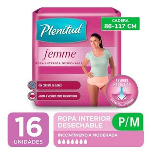 Plenitud Mujer Ropa Interior Femme X 16 Unidades
