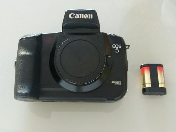 Camera Analógica (de Filme) Canon Eos 5