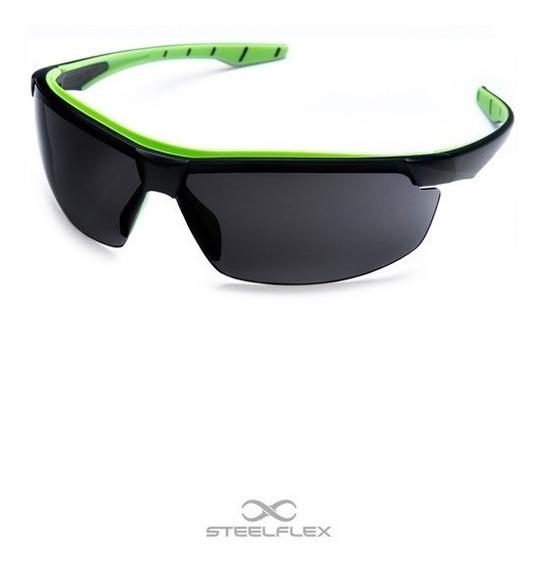 Oculos De Proteção Cinza Escuro Bicicleta Paintball Atirador