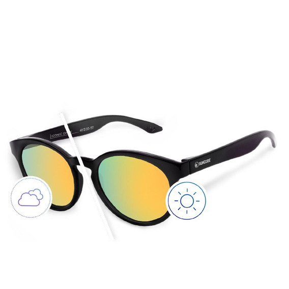Óculos De Sol Suncode Iconic Onyx Eclipse Daybreak