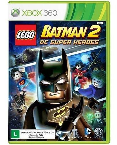 Jogo Lego Batman 2 The Videogame Xbox 360 Mídia Física