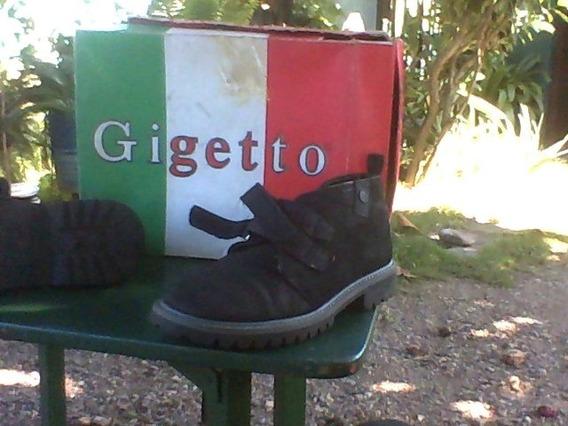 Zapatos Tipo Botin Usados Gigetto