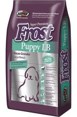 Raçao Super Premium Frost Puppy Lb Filhotes Grandes 15 Kg