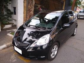 Honda Fit Lx 1.4 Preto - 2010 Pneus Novos 2a Dona